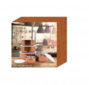 Le Regalo Kitchen, 10pcs Copper Storage Bowl set 2