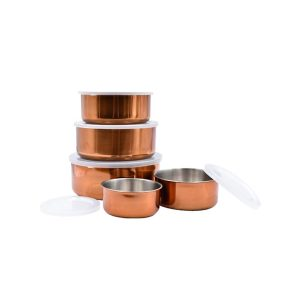 Le Regalo Kitchen, 10pcs Copper Storage Bowl set
